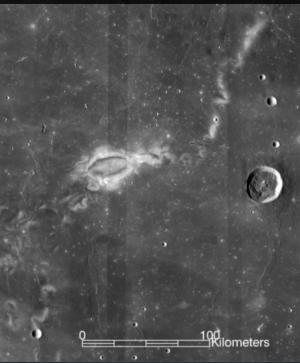 달의 라이너 감마 지역 - NASA 고다드 우주비행센터 제공